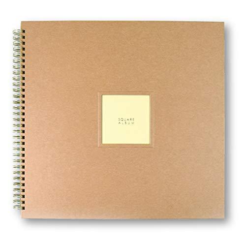 ゼットアンドケイ ましかくポケットアルバム 9ポケット 378枚収納 写真 大容量 手作り (クラフト)