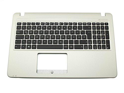 ASUS Tastatur inkl. Topcase DE (deutsch) schwarz/Silber Original 90NB0B01-R30100 A540LA / D540MB / D540SA / F540LA / F540SA / R540LA / R540SA / VivoBook X540LA, X540SA