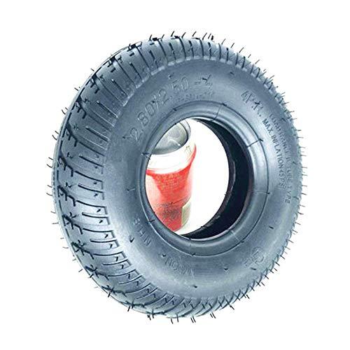 Neumáticos de Scooter eléctrico, 9 Pulgadas 2.80/2.50-4 Neumáticos internos y externos, Antideslizantes y Resistentes al Desgaste, adecuados para Scooters para Personas Mayores/sillas de Ruedas