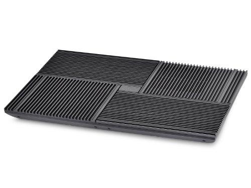 DEEP COOL MULTICORE X8, Ventola di Raffreddamento, Base per PC Portatili Notebook, Quattro Ventole, Doppia porta USB