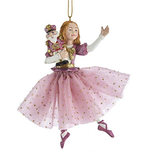 Kurt Adler Nutcracker Suite Nutcracker Clara Christmas Tree Ornament E0311 New