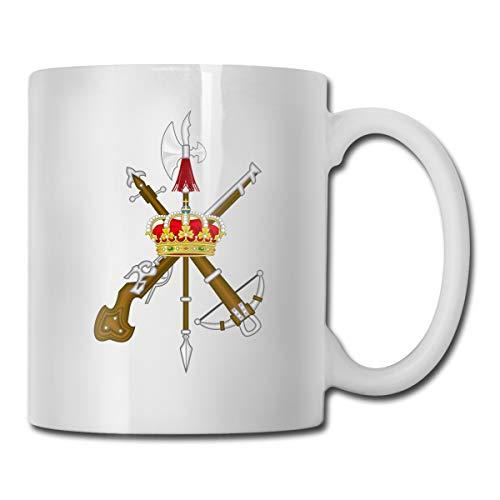 DSJRKSKEE Spanish Legion Funny Gift Mug White Tea Mug 11 Oz