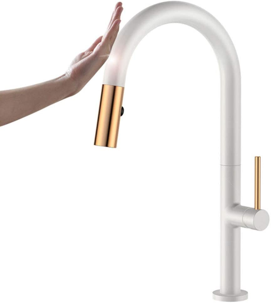 WLDOCA Sensor Tap Be super welcome Touch Single Pull Handle Faucet with Kitchen Price reduction