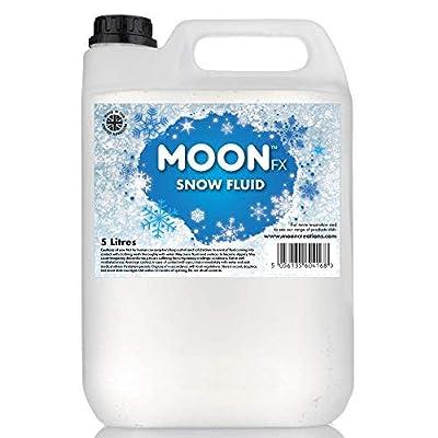 MoonFX Professional Snow Fluid 5L - Pro Snow Fluid that produces fluffy white foam based snow flakes