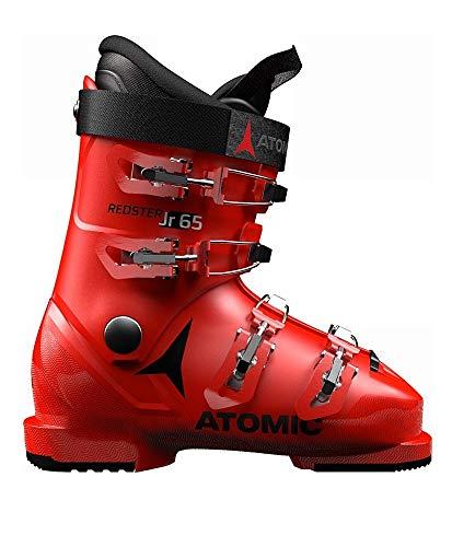 Atomic Unisex-Kinder ABO ATO Race Inl Schneestiefel, Rot Red Black 000, 34/35 EU