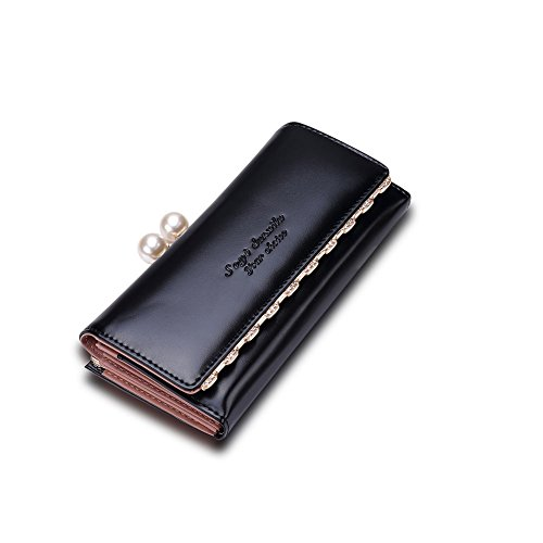 Fayting EU Portafoglio donna borsellino Matte PU pelle vari colori da scelto carte borsellino portafoglio da banchetto buon regalo
