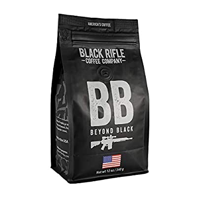 Black Rifle Coffee Ground (Beyond Black (Dark Roast), 12 Ounce)