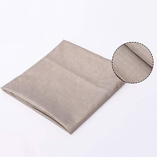 ACCLD Plata Fibra de poliéster Anti-radiación Tela Tela Anti-estático es Adecuado para el Equipaje, Ropa, Desgaste materno-Infantil, Uniformes Especiales,150 * 500cm