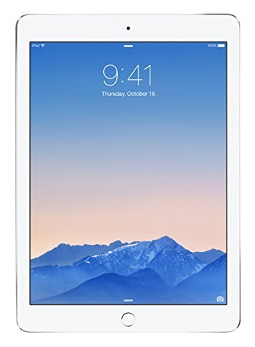Apple iPad Air 2 32GB Wi-Fi - Silver (Renewed)