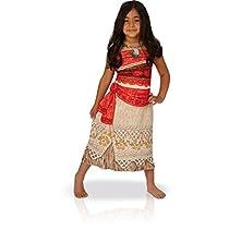 Rubies- Disney Moana, Disfraz de Vaiana para niña infantil (5-6 años)