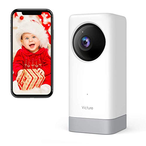 Victure 1080P Baby Monitor Pet Camera with Motion& Sound Detection, 2-Way Audio WiFi Camera Monitors