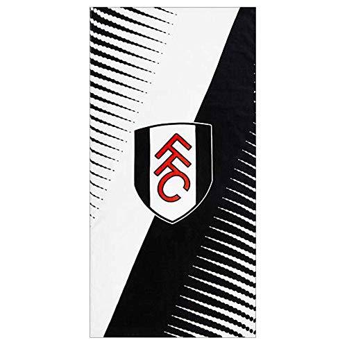 Offizielles Fulham FC Badetuch, 100 % Baumwolle, 75 x 150 cm