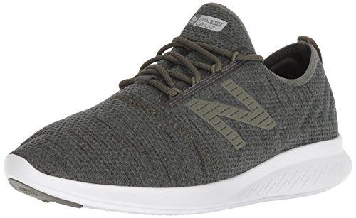 New Balance Mens FuelCore Coast V4 Running Shoe, Faded Rosin, 7.5 4E US