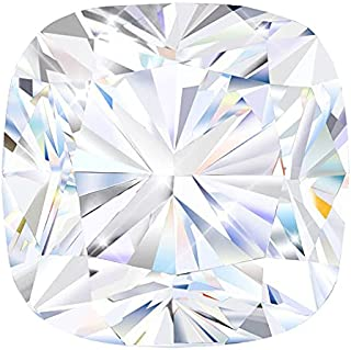 2.0ct 7mm Moissanite Stone Loose Simulated Diamond D Colorless Brilliant Cushion Cut VVS1 Clarity Gemstones for Engagement...