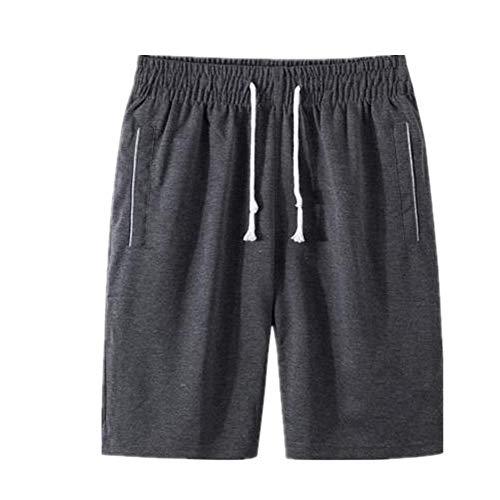 N\P Los hombres pantalones Cortos de Verano Pantalones de Deportes de los Hombres Más el Tamaño de Color Sólido Cordón Cortos de Fitness Quinta Pantalones шорты мужские Bermudas Masculina