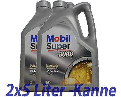 Motor OEL 5W40 SUP 3000 2x5L X1-558.34.89 - Mobil Super 3000 X1 5W-40 -