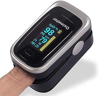 Oxímetro de Pulso de Dedo con Pantalla OLED, Monitor Digita