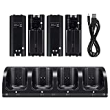 OSAN CICMOD 4X Charge Support de Charge Station + 4X Battery Pack pour...