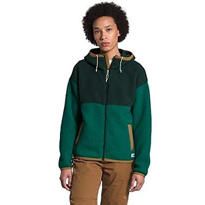 The North Face Women's Cragmont Fleece Full Zip Hoodie Medium Scarab Green/Evergreen