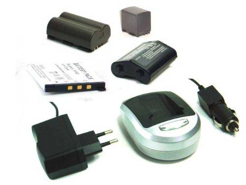 [Digitalkamera/ Camcorder Zubehör] Li-Ion Akku + Ladegerät (Netzteil & Kfz-Adapter) für CANON NB-7L /NB7L Powershot POWER SHOT G10 G11