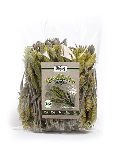 Biojoy Griego Té de la montaña Ecologico, tallos y flores enteros Sideritis scardica (150 gr)
