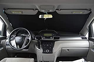 A1 Shades Windshield Sun Shade Premium-Fabric-240T Size Chart for Cars SUV Trucks Minivans Sunshades Keeps Your Vehicle Co...