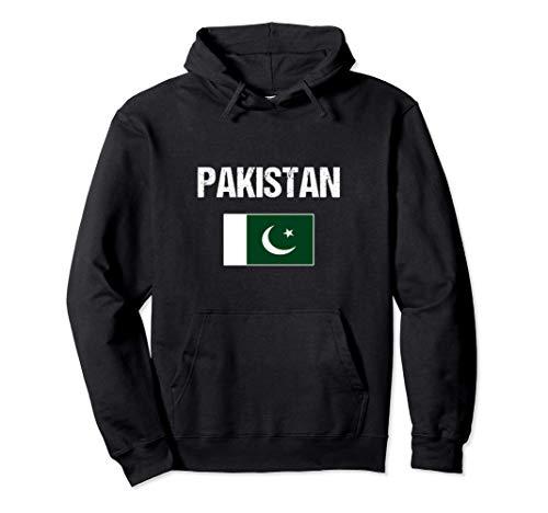 Pakistanische Stolz Kulturerbe | Pakistan Flagge Pullover Hoodie