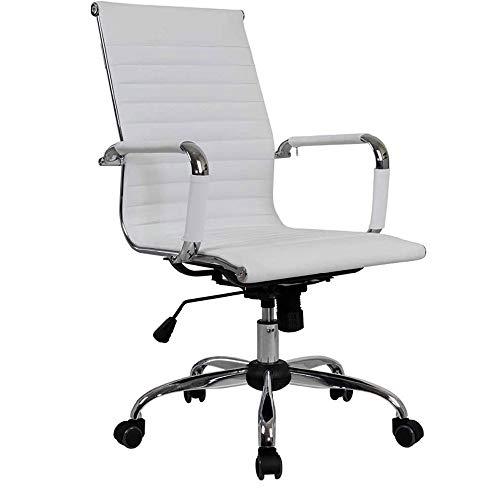 Silla de oficina yale Silla de oficina, silla de escritorio de oficina juego de la computadora Silla ejecutiva giratoria adecuada for ordenador Asiento de altura ajustable, giro de 360 grados, Color