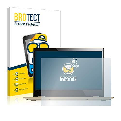 BROTECT Entspiegelungs-Schutzfolie kompatibel mit Lenovo Yoga 520 14.0 Bildschirmschutz-Folie Matt, Anti-Reflex, Anti-Fingerprint