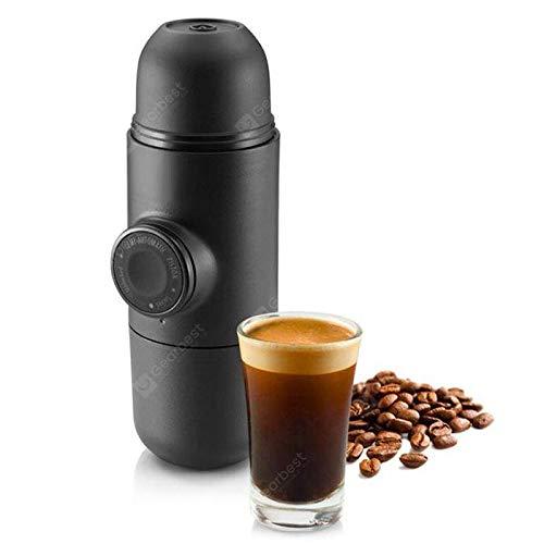 OverTop Mini Pumpe Manuelle Kaffeemaschine Handheld Druck Espresso-Maschine