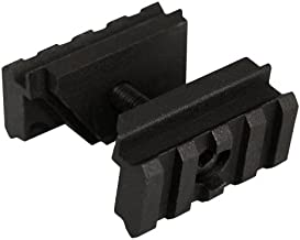 AIM Sports AR Front Sight Tower Mount with Double Plates, Small, Black