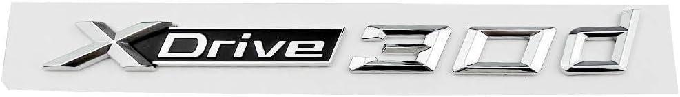 DJ Home Car Arlington Mall Front Hood Emblem 3D Max 79% OFF Letters Pcs Xdrive 1-20