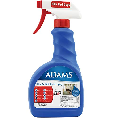 Adams Flea and Tick Home Spray, 24 Ounce