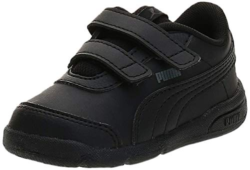PUMA Unisex Baby Stepfleex 2 SL VE V Inf Sneakers, Black Black, 21 EU