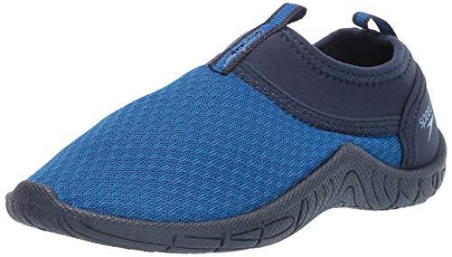 Speedo Kids' Water Shoe Tidal Cruiser, Navy/Royal, 10/11 Toddler Unisex Baby US