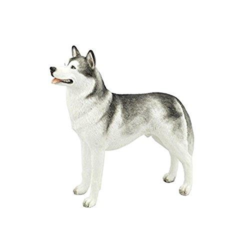 Siberian Husky Puppy Dog Animal Figurine 76376