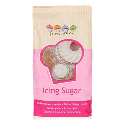 FunCakes Funcakes Icing Sugar Azúcar Glas Impalpable Para Repostería Profesional Y Casera, 900G, 42552 900 g