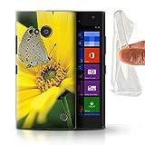 Stuff4 Phone Case for Nokia Lumia 730 English Gardens