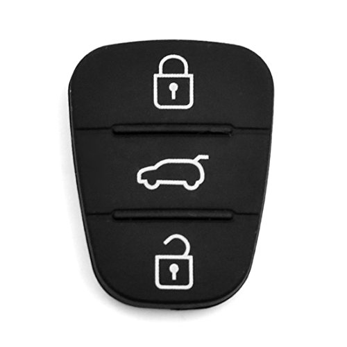 sourcing map sourcing map Auto Schlüssel Hülle Fernbedienung Gehäuse 3 Tasten Silikon Schutzhülle Schlüsselhülle Funkschlüssel Cover