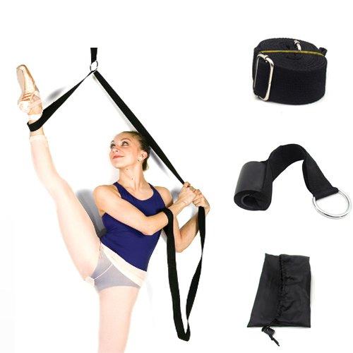 Ballet Diseño de pierna pie elástico banda estiramiento formación correas perfecto para las niñas Mujeres Danza bailarina y flexibilidad de gimnasia Yoga animadora Cheerleader formación