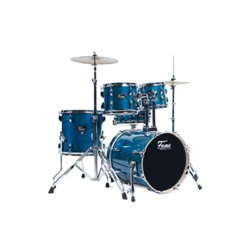 Fame Maple Standard Jungle Set Schlagzeug #T�rkis