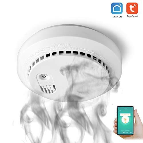 Tuya WiFi CO Detektor WiFi Kohlenmonoxid & Rauchmelder