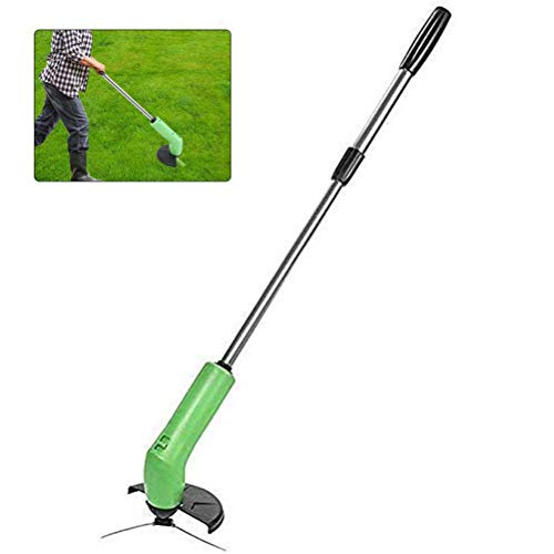 Fantastic Deal! J-ouuo Telescopic Lightweight Powerful Grass Trimmer Cordless Grass Strimmer Trimmer...