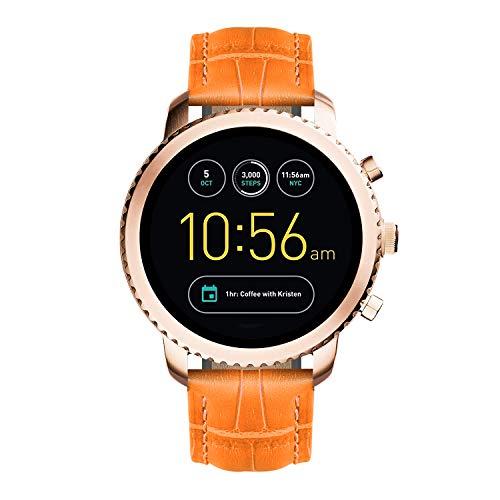 BINLUN Bandas de Reloj compatibles con Fossil Q Venture Gen 5/Gen 4/Gen 3/Sport 41mm 43mm/Hybrid Smartwatch Correa de Cuero Genuino Reemplazo 18mm 22mm 24mm Pulsera de Pulsera para Hombres Mujeres