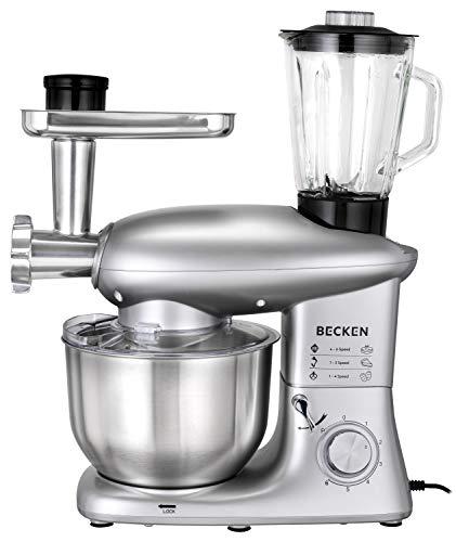 Becken BKM4570 Robot Cocina, 1400 W, 6 litros, Plástico, Multicolor