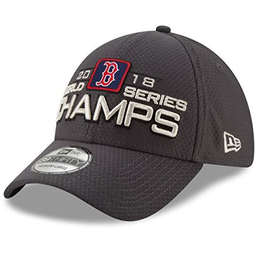New Era Boston Red Sox MLB18 39Thirty Gorra ajustable Sombrero Gris 11915065...