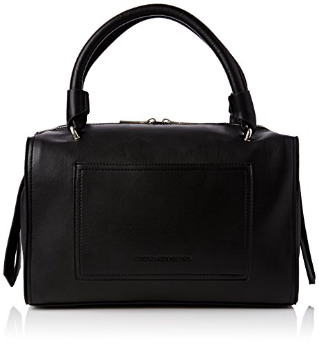 French Connection STABSTITCH BETTY BOARDED HOLDA SBGCK Damen Bowlingtaschen 32x19x15 cm (B x H x T), Schwarz (BLACK 1)