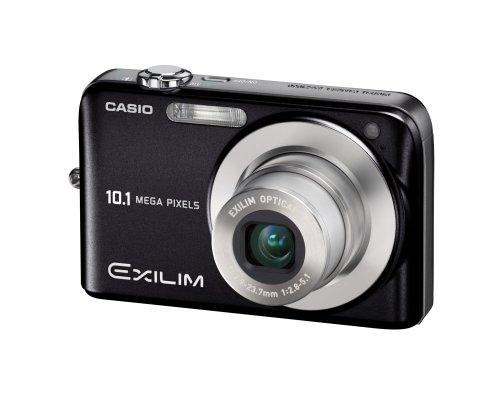 Casio Exilim EX-Z1050 10.1MP Digital Camera with 3x Anti Shake Optical Zoom (Black)