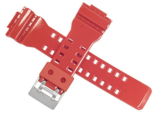 Casio Cinturino per orologio G-8900A-4 G 8900A 8900 GA 100 ROSSO 10400711