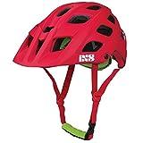 iXS Trail RS Fahrrad Helm All Mountain Bike AM MTB Enduro DH Downhill Visier Verstellbar EN1078, IXS-TRSH, Farbe Rot, Größe XL
